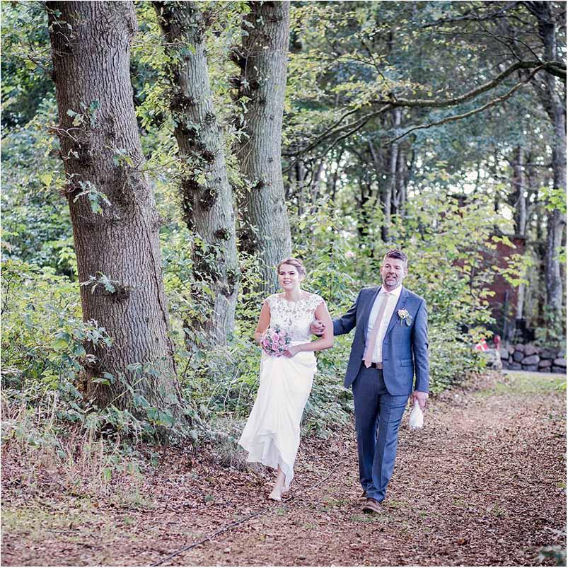 bryllup i skov